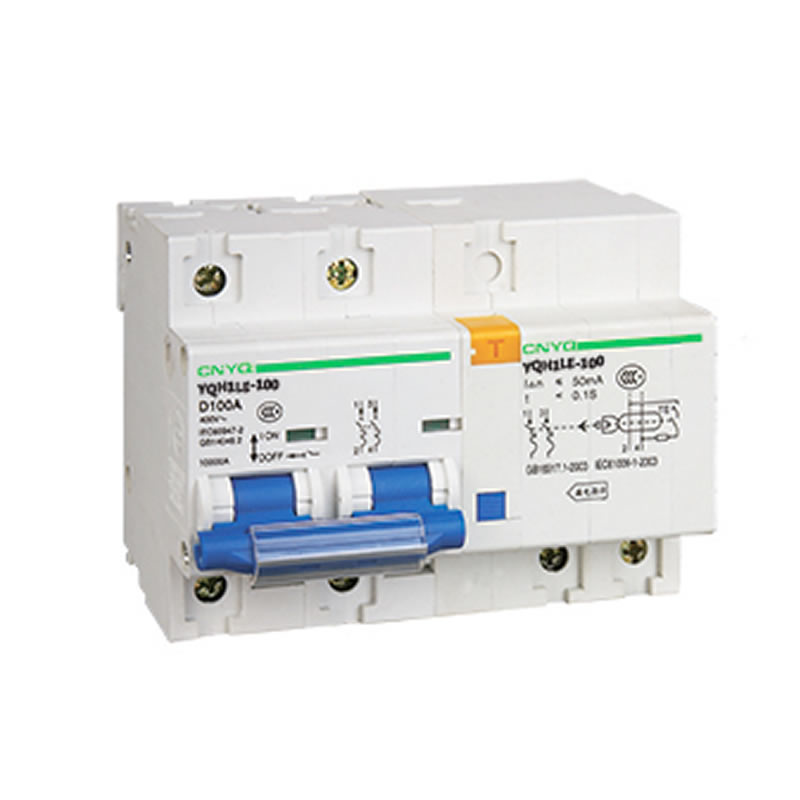 YQH1LE-100A-2P 漏电保护断路器器