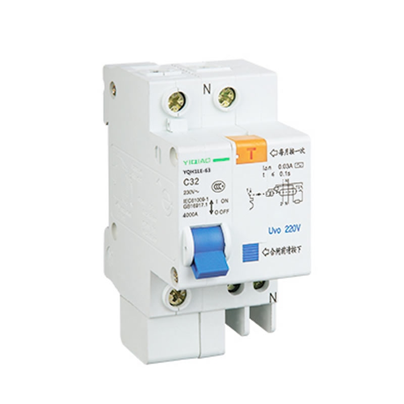 YQH1LE-63-1P漏电保护断路器