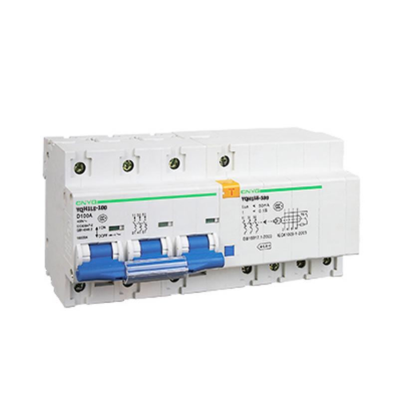 YQH1LE-100A-3P漏电保护器